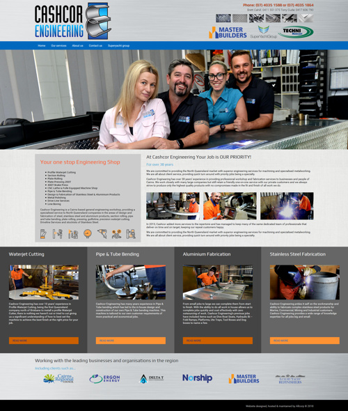 cairns engineer website design